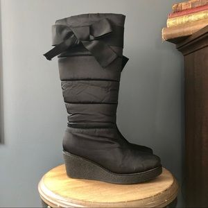 kate spade ♠️ Cagney Wedge Boot